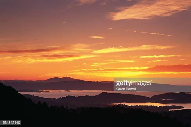 Dawn on Mount Tamalpais