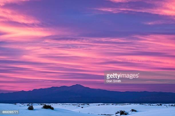 dawn on the dunes - don smith stock-fotos und bilder