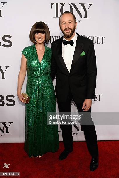 Dawn O'Porter and actor Chris O'Dowd attend the 68th Annual Tony Awards at Radio City Music Hall on June 8 2014 in New York City