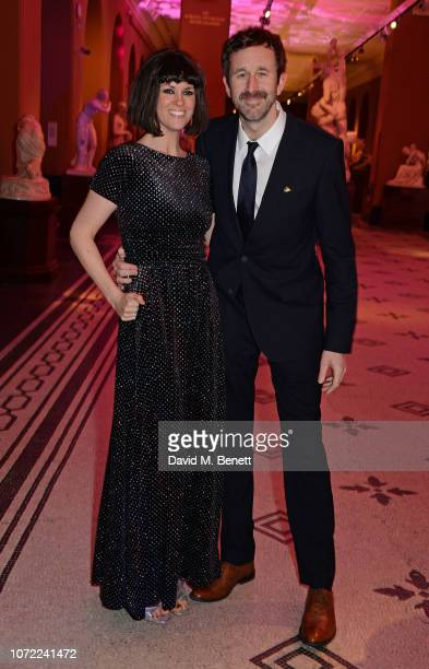 Dawn O'Porter and Chris O'Dowd attend the European Premiere after party for Mary Poppins Returns at The VA on December 12 2018 in London England