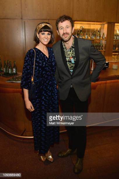 Dawn O'Porter and Chris O'Dowd attend The Hollywood Reporter's 7th Annual Nominees Night presented by MercedesBenz Century Plaza Residences and...