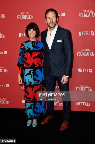 Dawn O'Porter and Chris O'Dowd attend the SAGAFTRA Foundation Patron of the Artists Awards 2017 at the Wallis Annenberg Center for the Performing...