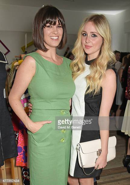 Dawn O'Porter and Diana Vickers attend the BOB by Dawn O'Porter popup boutique launch party in Covent Garden on May 6 2015 in London England