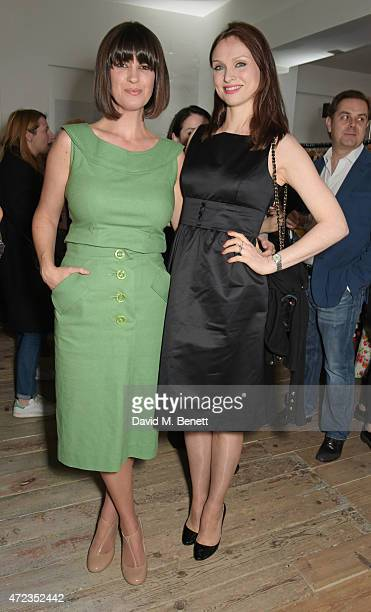 Dawn O'Porter and Sophie EllisBextor attend the BOB by Dawn O'Porter popup boutique launch party in Covent Garden on May 6 2015 in London England