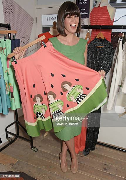 Dawn O'Porter attends the BOB by Dawn O'Porter popup boutique launch party in Covent Garden on May 6 2015 in London England