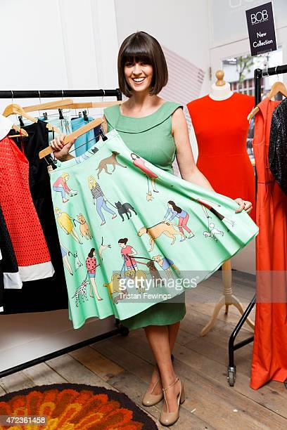 Dawn O'Porter attends the launch her BOB pop up boutique at Seven Dials with Caorunn Gin and anCnoc vinatage Whisky Vidal Sassoon and Smashbox on May...