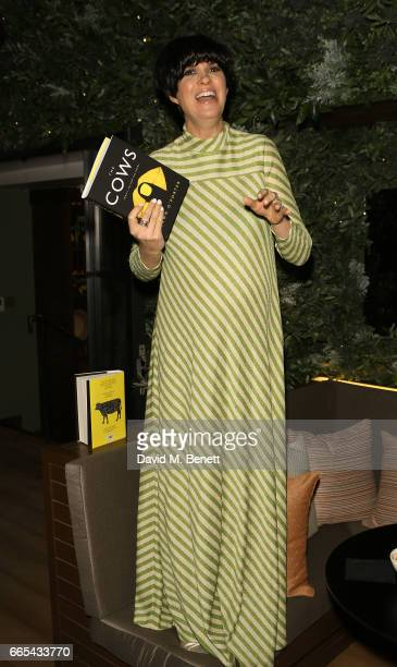 Dawn O'Porter attends the launch of new book The Cows by Dawn O'Porter at the Marylebone Hotel on April 6 2017 in London England