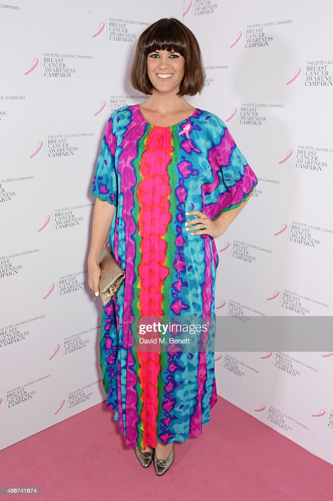 Dawn O'Porter attends the launch of The Estee Lauder Companies' UK Breast Cancer Awareness (BCA) Campaign 2014 'Hear Our Stories. Share Yours' at Kensington Palace on October 6, 2014 in London, England.