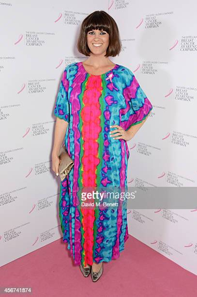 Dawn O'Porter attends the launch of The Estee Lauder Companies' UK Breast Cancer Awareness Campaign 2014 Hear Our Stories Share Yours at Kensington...