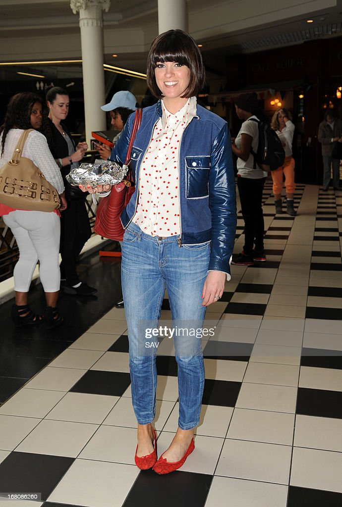Dawn O'Porter pictured at Whiteleys shopping centre on May 5, 2013 in London, England.