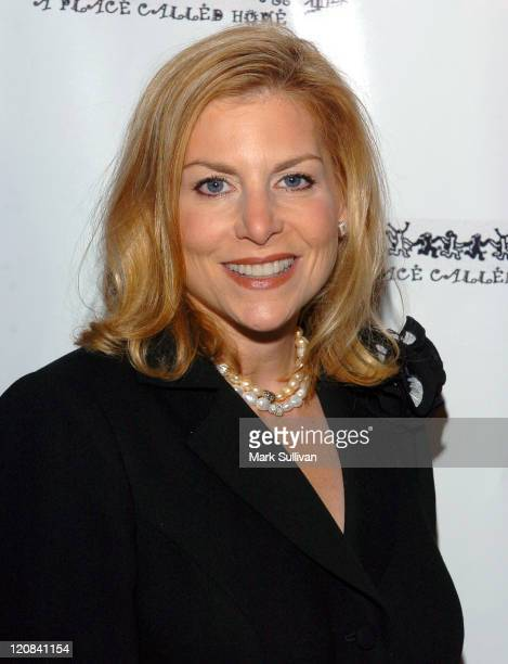 Dawn Ostroff during A Place Called Home Gala For The Children Arrivals at The Beverly Hilton Hotel in Beverly Hills California United States