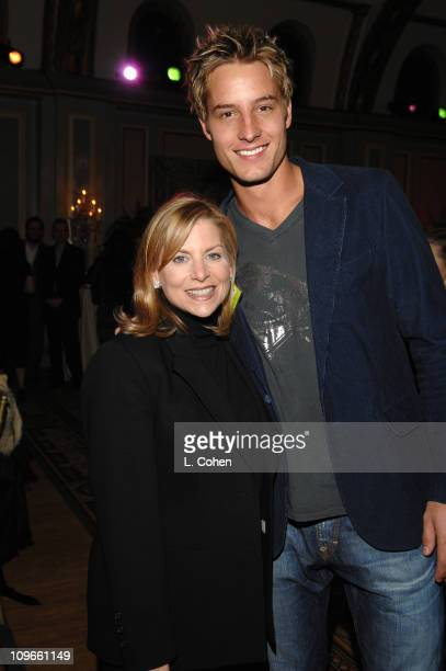 Dawn Ostroff President Entertainment The CW and Justin Hartley