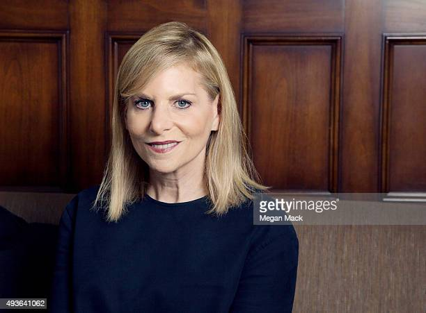 Dawn Ostroff President of Condé Nast Entertainment poses for a portrait at TheGrill for The Wrap on October 6 2015 in Los Angeles California