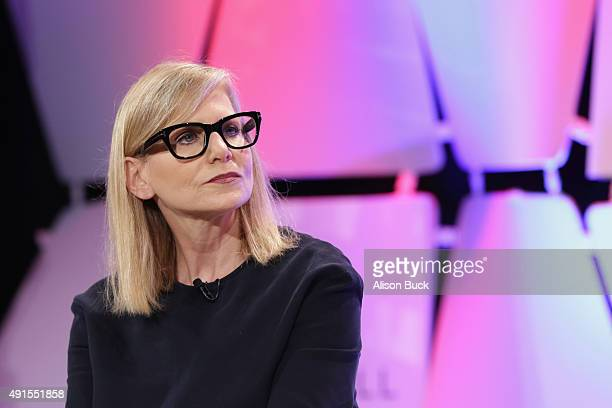 Dawn Ostroff President of Conde Nast Entertainment speaks onstage during TheWrap's 6th Annual TheGrill at Montage Beverly Hills on October 6 2015 in...