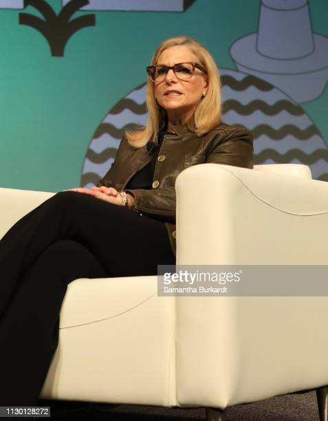 Dawn Ostroff speaks onstage at Convergence Keynote The Second Golden Age of Audio – Podcasting during the 2019 SXSW Conference and Festivals at...
