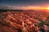 Dawn over Bryce Canyon