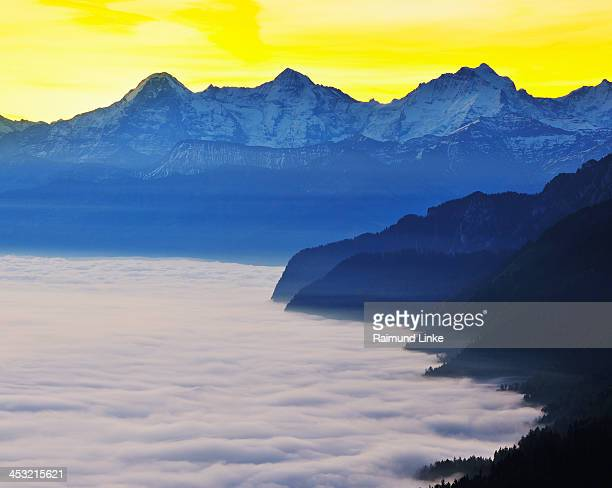 Dawn over Sea of Clouds