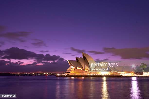 Dawn Over Sydney Opera House
