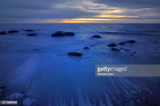 Dawn over the Baltic Sea, Fehmarn Island, Schleswig-Holstein, Germany