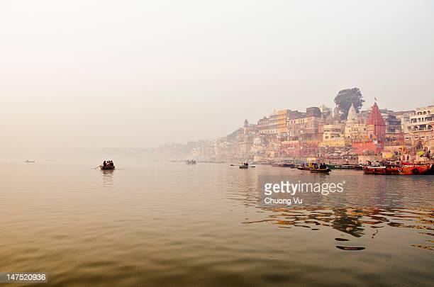 Dawn over Varanasi