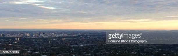 Dawn Panorama of Adelaide