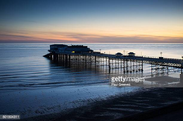 Dawn photograph of Cromer Pier.
