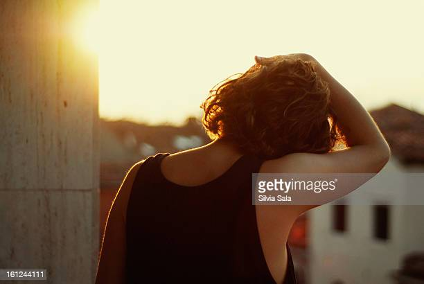 dawn - one young woman only stock pictures, royalty-free photos & images