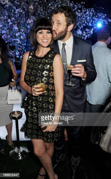 Dawn Porter and Chris O'Dowd attend an after party following the Glamour Women of the Year Awards in association with Pandora at Berkeley Square...
