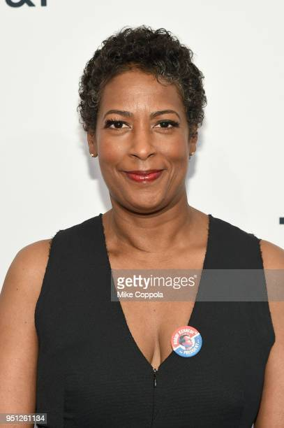 """Dawn Porter attends a screening of """"Bobby Kennedy For President"""" during the 2018 Tribeca Film Festival at SVA Theatre on April 25, 2018 in New York..."""