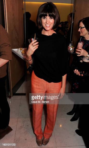 Dawn Porter attends the launch of Kate Nash's new album 'Girl Talk' at St Martin's Lane Hotel on March 4 2013 in London England