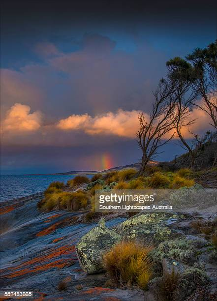 Dawn Rainbow Marshall Bay