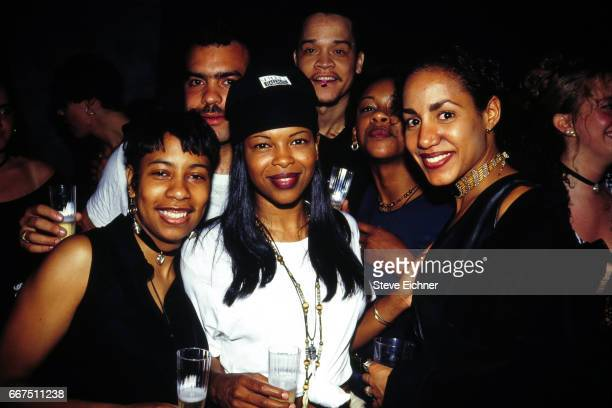 Dawn Robinson of En Vogue at Club USA New York New York circa 1990s