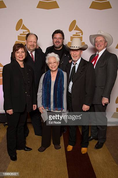 Dawn Sears Andy Reiss Janis Ian Vince Gill Larry Franklin and Ranger Doug Green Attend the Nashville GRAMMY Nominee Party at the Loews Vanderbilt...