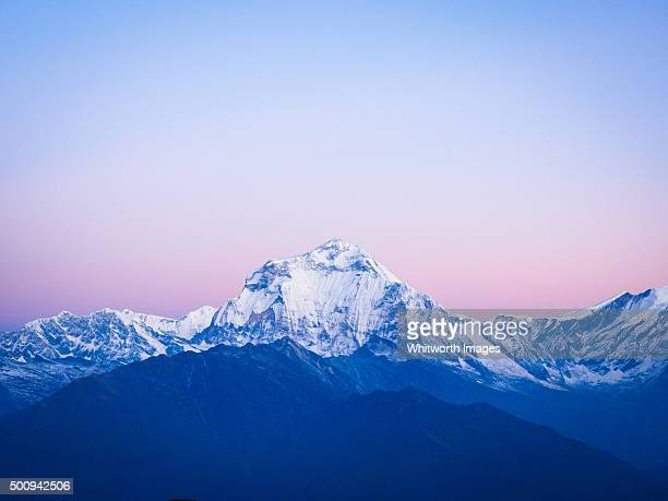 Dawn view to Dhaulagiri, Nepal Himalayas