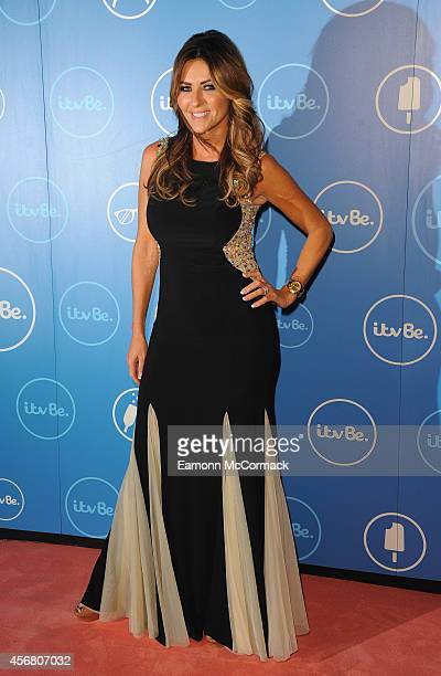 Dawn Ward of The Real Housewives of Cheshire attends the ITV BE launch at ITV Studios on October 7 2014 in London England