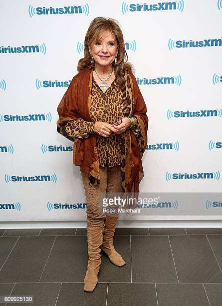 Dawn Wells visits at SiriusXM Studio on September 23 2016 in New York City