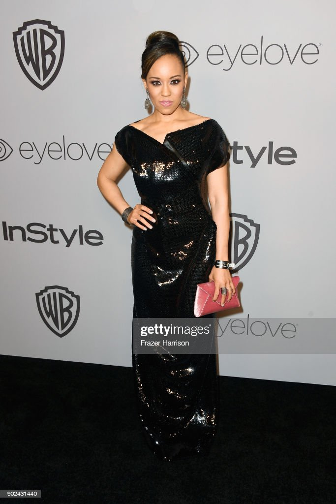 Dawn-Lyen Gardner attends 19th Annual Post-Golden Globes Party hosted by Warner Bros. Pictures and InStyle at The Beverly Hilton Hotel on January 7, 2018 in Beverly Hills, California.