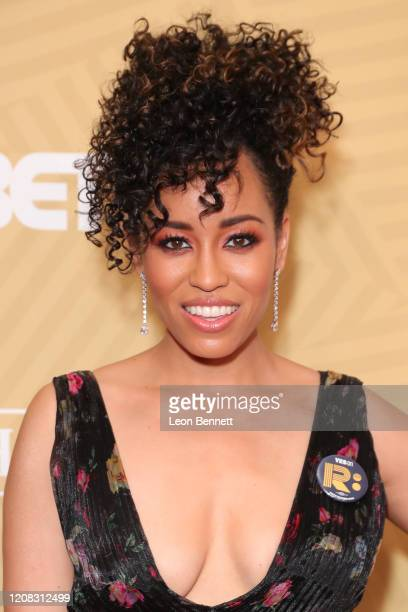 Dawn-Lyen Gardner attends American Black Film Festival Honors Awards Ceremony at The Beverly Hilton Hotel on February 23, 2020 in Beverly Hills,...