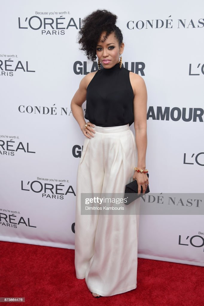 Dawn-Lyen Gardner attends Glamour's 2017 Women of The Year Awards at Kings Theatre on November 13, 2017 in Brooklyn, New York.
