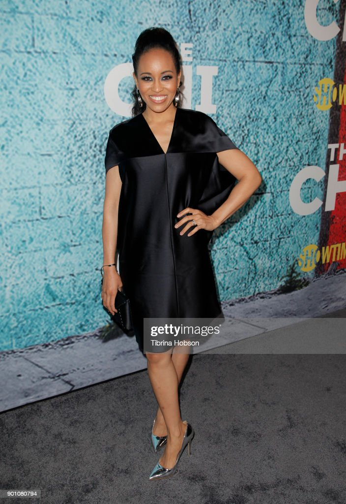 Dawn-Lyen Gardner attends the premiere of Showtime's 'The Chi' at Downtown Independent on January 3, 2018 in Los Angeles, California.