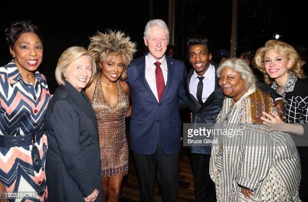 "Dawnn Lewis as ""Zelma Bullock"", Hillary Clinton, Adrienne Warren as ""Tina Turner"", Bill Clinton, Daniel J Watts as ""Ike Turner"", Myra Lucretia Taylor..."