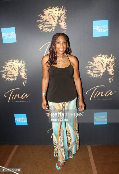 Dawnn Lewis poses at a photo call for the new broadway musical Tina The Tina Turner Musical at The New 42nd Street Studios on September 3 2019 in New...