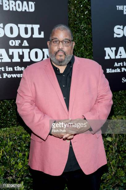 Dawoud Bey attends The Broad Museum celebration for the opening of Soul Of A Nation Art in the Age of Black Power 19631983 Art Exhibition at The...
