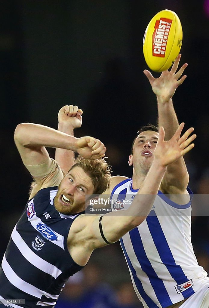 AFL Rd 15 - North Melbourne v Geelong