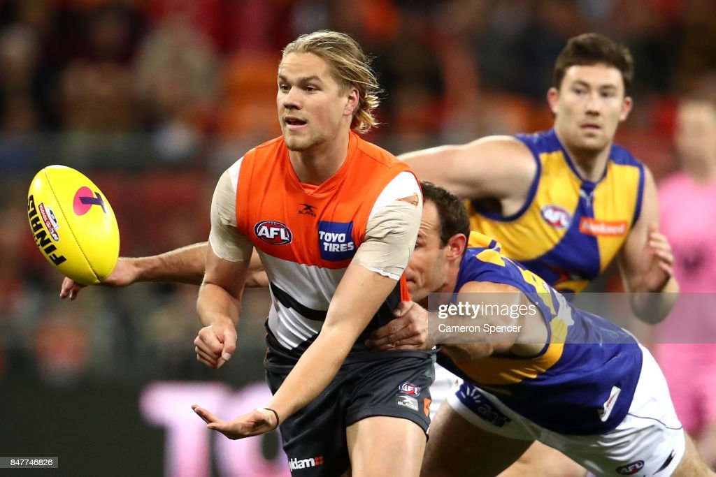 AFL 1st Semi Final - GWS v West Coast