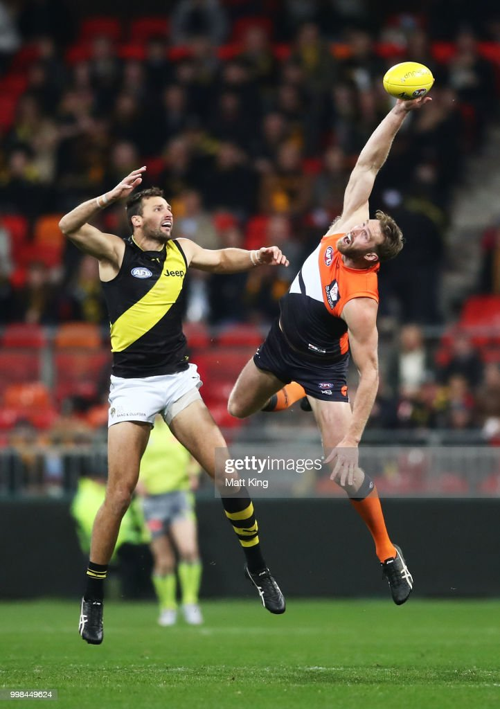 AFL Rd 17 - GWS v Richmond