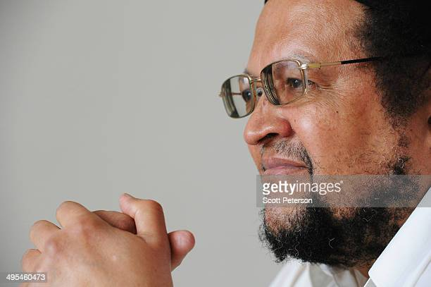 Dawud Salahuddin, an African-American convert to Islam who was born David Theodore Belfield , poses for a portrait on March 16 in Tehran, Iran. A...