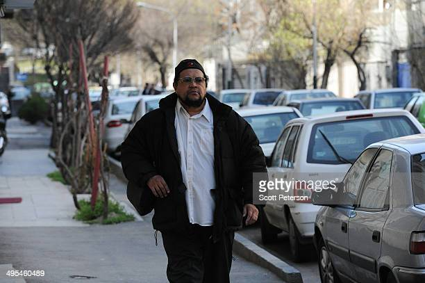 Dawud Salahuddin, an African-American convert to Islam who was born David Theodore Belfield , walks along a street on March 16 in Tehran, Iran. A...