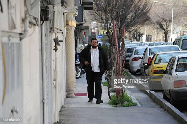 Dawud Salahuddin, an African-American convert to Islam who was born David Theodore Belfield , walks along a street on March 16 in Tehran, Iran. A...