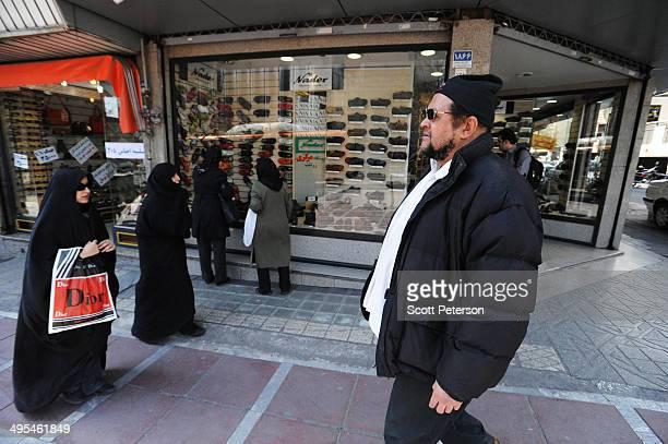 Dawud Salahuddin, an African-American convert to Islam who was born David Theodore Belfield , walks along ValiAsr Street on March 16 in Tehran, Iran....